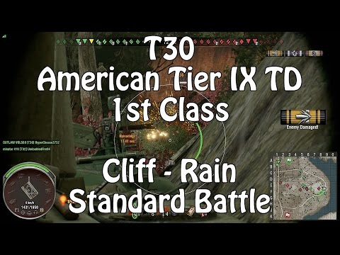 World Of Tanks || Xbox One || T30 || 1st Class