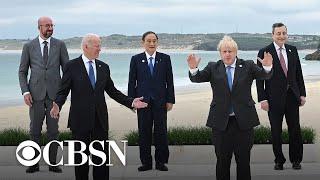 Biden meets with G7 leaders ahead of Putin summit