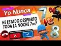 """7 VS 8 JUGANDO """"YO NUNCA"""" NIVEL #1 (G78)"""