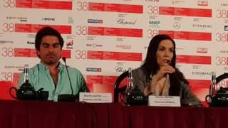 Пресс-конференция Наталии Орейро на ММКФ