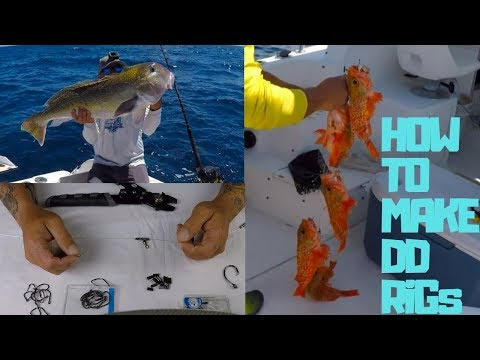 BEST RIG For DEEP DROP Fishing, HOW TO MAKE A DEEP DROP RIG, EASY WAY TO MAKE DEEP DROP RIGS.
