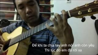 Loi lam (Phan Dinh Tung) [Guitar solo] [K'K]