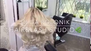 Капсульное наращивание волос - славянские волосы