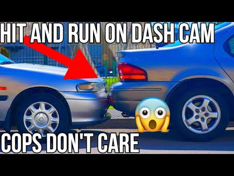 HIT AND RUN Caught On Dash Cam | Tesla Model 3 | Police Don't Care | NO Autopilot | Car Crash |