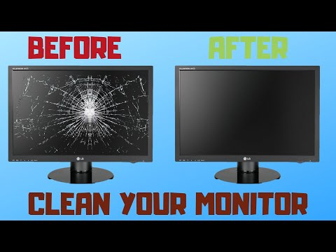 How to clean your Monitor Screen in 2019