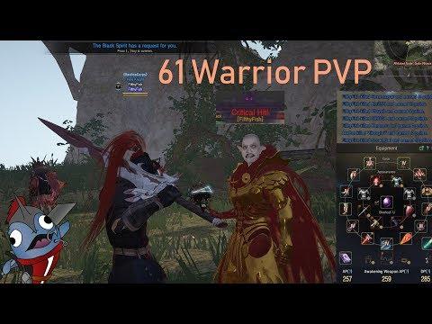 NA 61 warrior PVP - RBF and 1v1