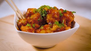 GENERAL TSO's CAULIFLOWER : Cooking w/ Ramona Debreaux