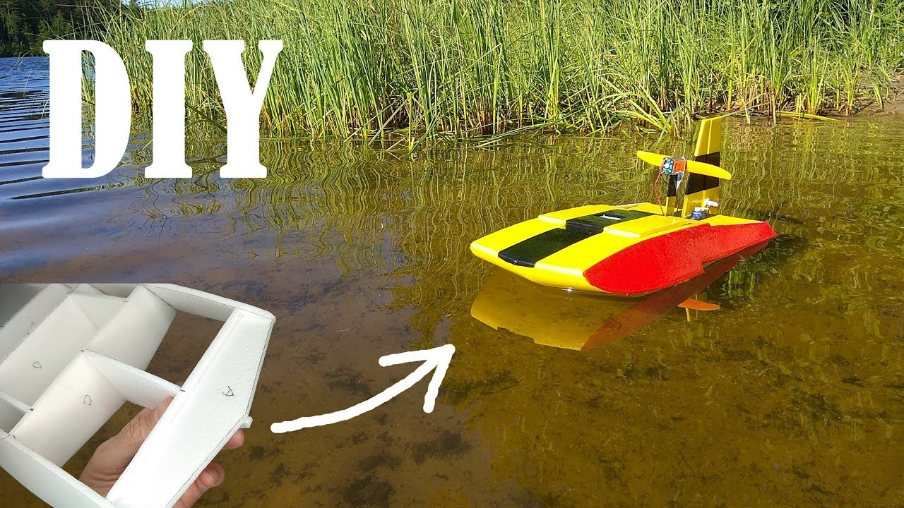 How To Make Rc Air Boat At Home Diy Youtube