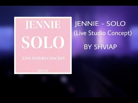 JENNIE - SOLO (Live Studio Concept)