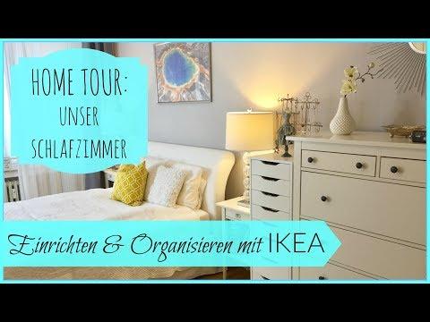 Einrichten & Organisieren mit IKEA: unser Schlafzimmer | BeautyThoughtsbyAlex