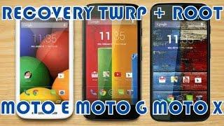 Instalar Root y Recovery TWRP  Moto E 1 2 3 Gen.,  Moto X 1 2 3 Gen., Moto G 1 2 3 4 Gen. y Moto Z