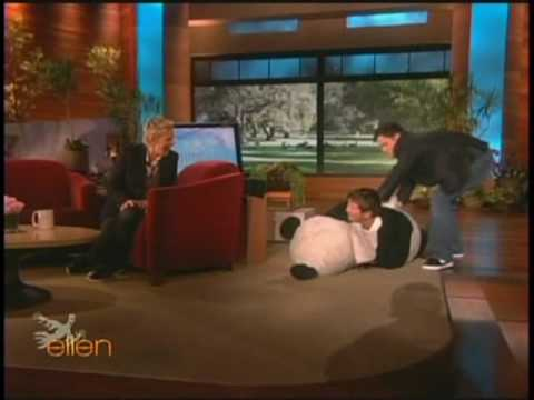 Ellen- Ellen scares her guests for Halloween