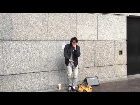 Gene Shinozaki - Street Performance