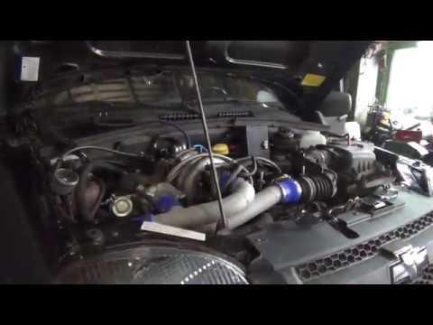 Шевроле Нива (Chevrolet NIVA) турбина TD04.