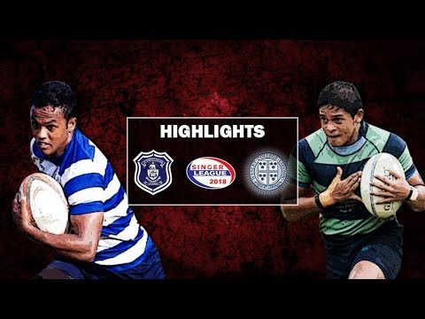 Match Highlights - St. Joseph's v Wesley College Schools Rugby Cup #32