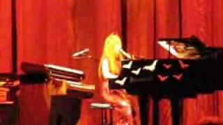 Tori Amos Happy Phantom with Band Pittsburgh