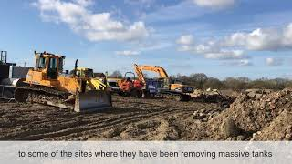 Glenbeigh Developments Ltd has started work to prepare a Brownfield  site for up to 325 new homes...
