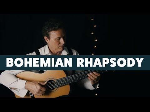 Bohemian Rhapsody - Queen - Fingerstyle Guitar FREE TAB!  Gavin Libotte