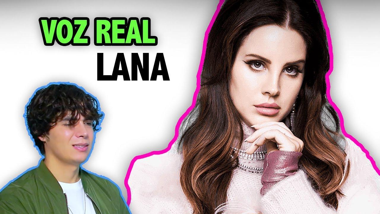 Escuchando la Voz Real de Lana del Rey sin Autotune | Vargott