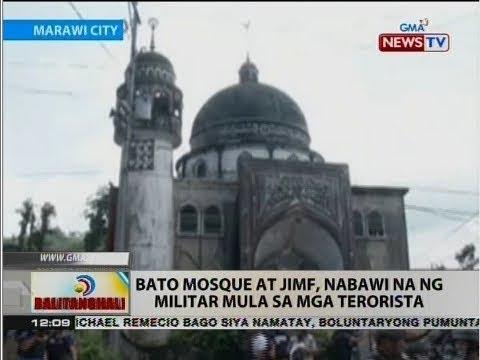 BT: Bato Mosque at JIMF, nabawi na ng militar mula sa mga terorista