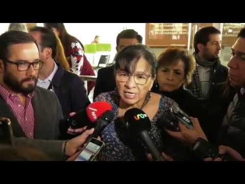 Entrevista Nashieli Hernández al finalizar firma Convenio Alcaldía Miguel Hidalgo