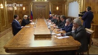 Марин Ле Пен встретилась с Вячеславом Володиным в ходе визита в Москву