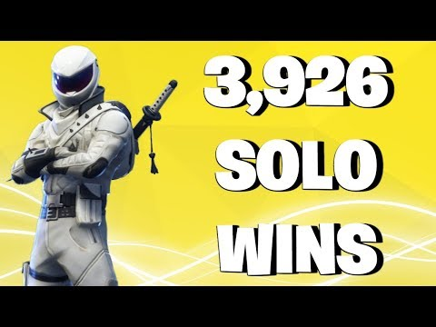 3,926 solo wins - fortnite battle royale live stream