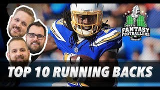 Fantasy Football 2018 - Early RB Rankings Part 1 - Ep. #536