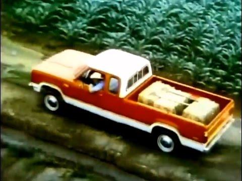Dodge Pickup Truck Commercial (1975)