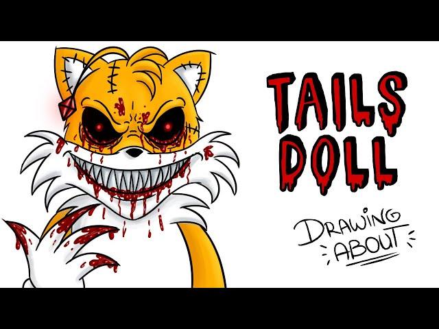 TAILS DOLL | Draw My Life | Creepypasta