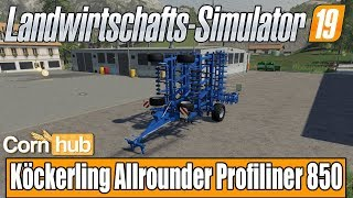LS19 Modvorstellung - Köckerling Allrounder Profiliner 850 - LS19 Mods