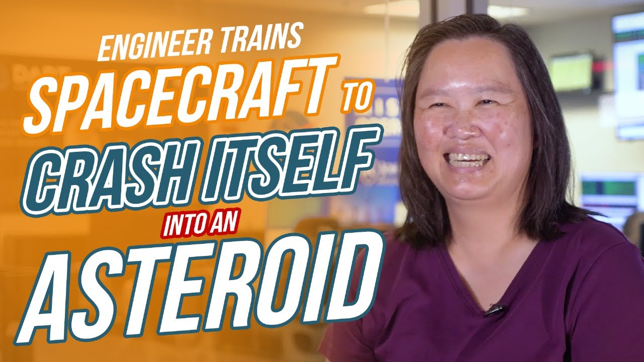 Behind the Spacecraft: Michelle Chen - NASA