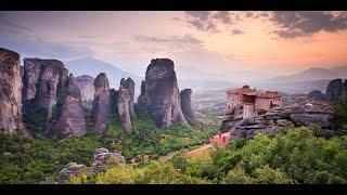 Метеора и Монастыри /  Греция   / Фантастический пейзаж