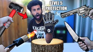 I Bought 100% UNBREAKABLE RESCUE EXTRACTION GLOVES!! (5 STARS) *FIRE/SLICE/IMPACT PROTECTION!!*