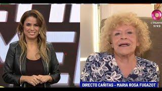 María Rosa Fugazot Y La Cuarentena: '¿quién Protege A Los Actores?'