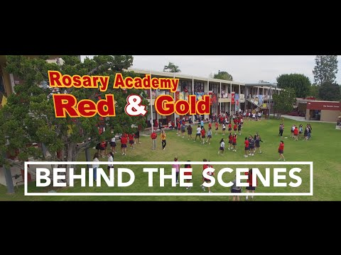 Rosary Academy Red & Gold (Behind the Scenes) - Mike Zuniga Films