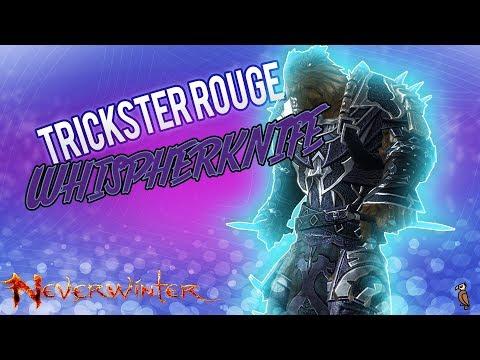 Neverwinter PS4, Trickster Rogue WhisperKnife Personal Build