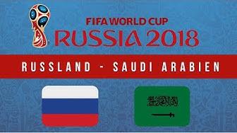 Russland - Saudi Arabien Tipp | WM 2018 Wetten