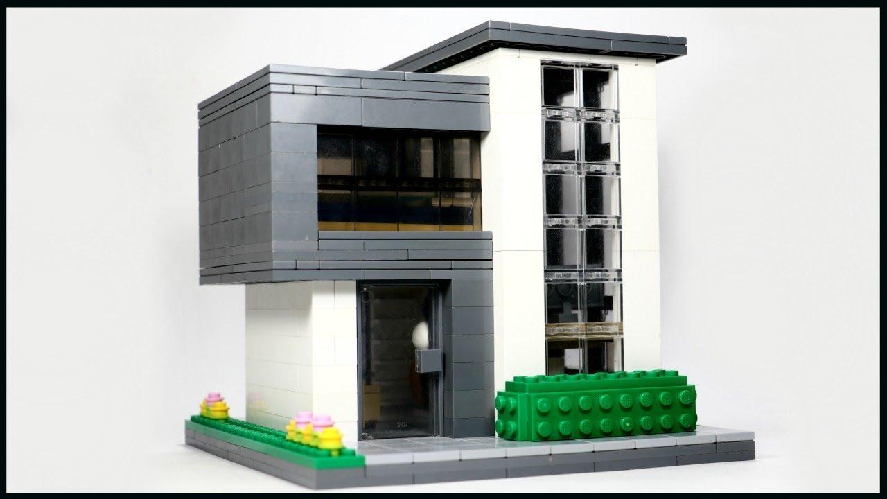 Tiny Lego Modern House Moc Youtube
