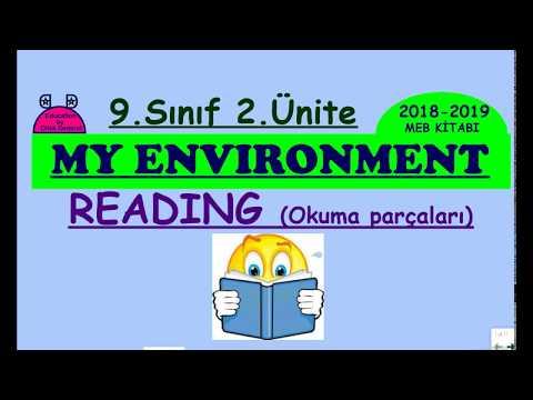 İngilizce 9. sınıf 2. Ünite My Environment Reading