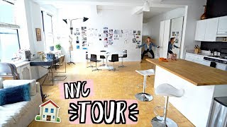 NYC Apartment Tour!! AlishaMarieVlogs