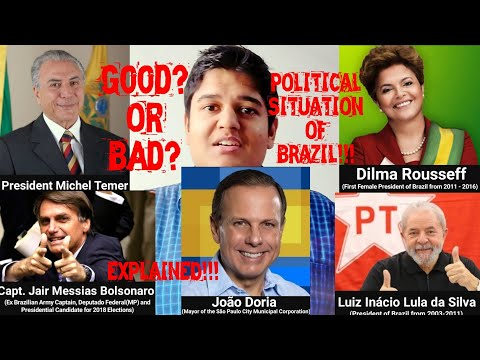 POLITICAL Situation in BRAZIL!! Stable or Unstable? CURRENT Brazilian POLITICAL Scenario EXPLAINED!