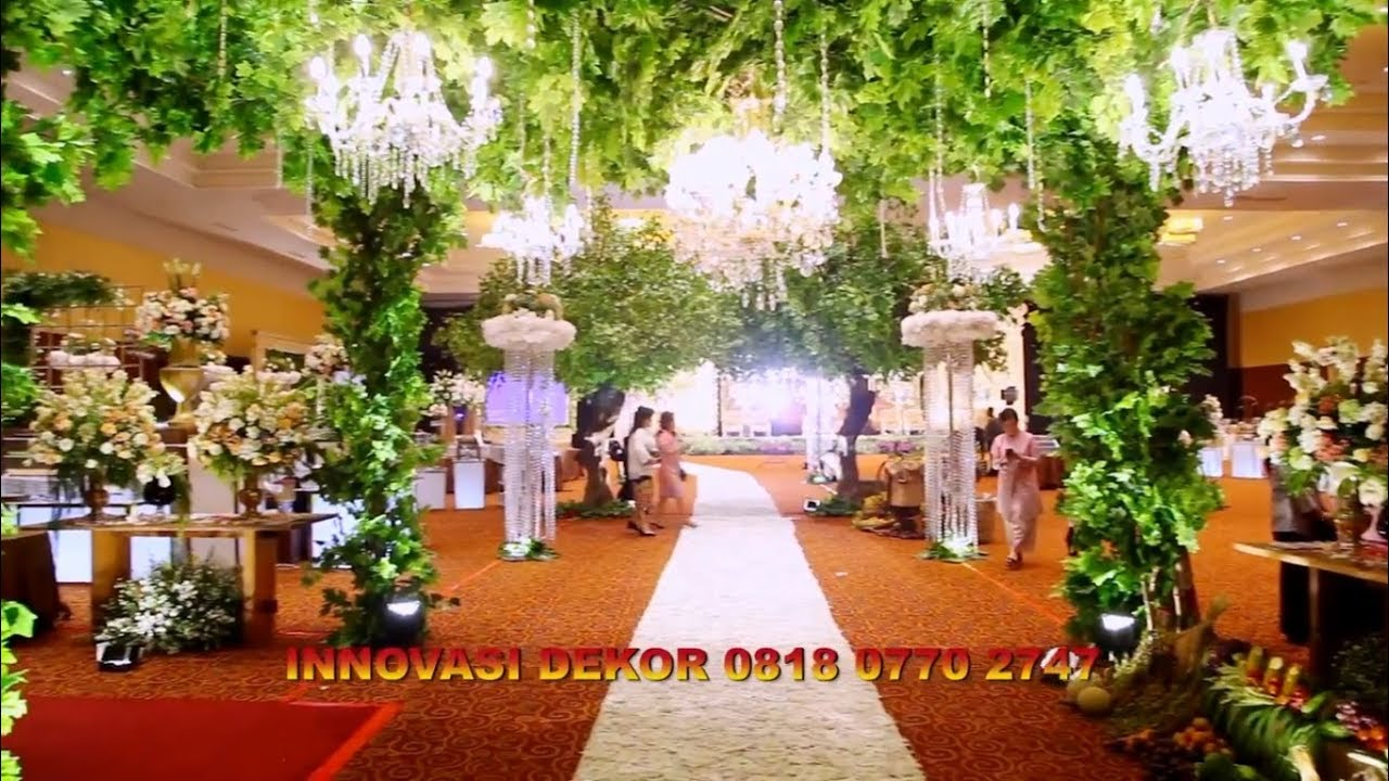Dekorasi Resepsi Pernikahan Murah Adat Jawa Sunda