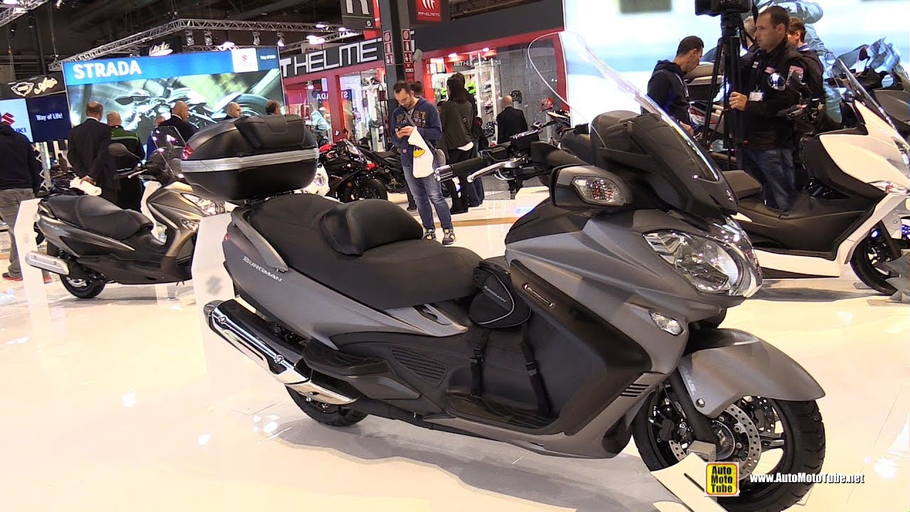 2017 suzuki burgman 650 executive scooter walkaround. Black Bedroom Furniture Sets. Home Design Ideas