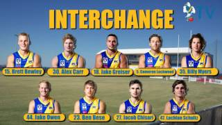 Team Announcement Round 4 vs Port Melbourne