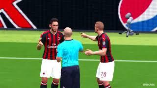 AC Milan vs Juventus Higuain Scored a Goal UCL 2018 Gameplay
