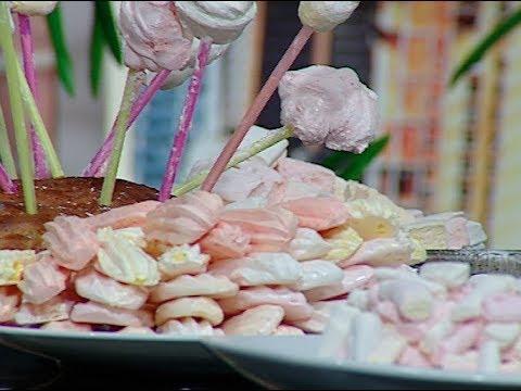 المارشيملو واصابع حلوى الموز من الشيف محمد فوزى حلقه مطبخ الراعي