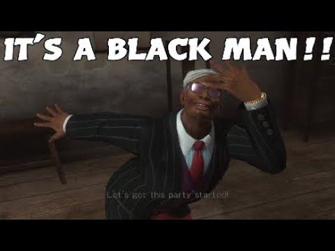 IT'S A BLACK MAN (WE DON'T LIKE BLACK PEOPLE)