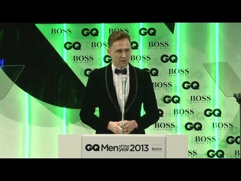 Thumbnail: Tom Hiddleston presents Emma Watson with GQ's Woman Of The Year Award