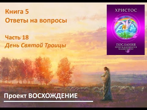 Учитель Христос. Ответы на вопросы. Часть 18. О дне Святой Троицы